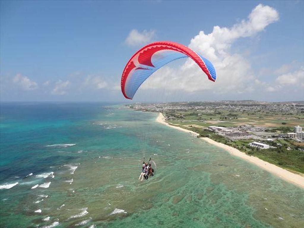 Okinawa Motor Paraglider (Pleasure Flight) 2