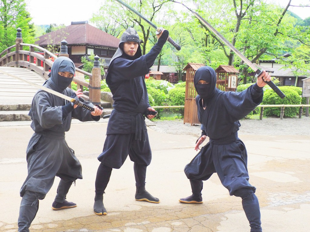 Meet Ninja in Edo Wonderland Day Trip 0