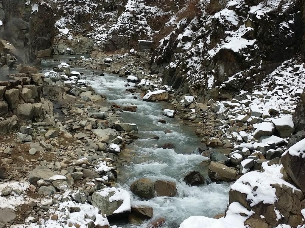 Trip Melihat Monyet Salju Mandi di Pemandian Alam 3
