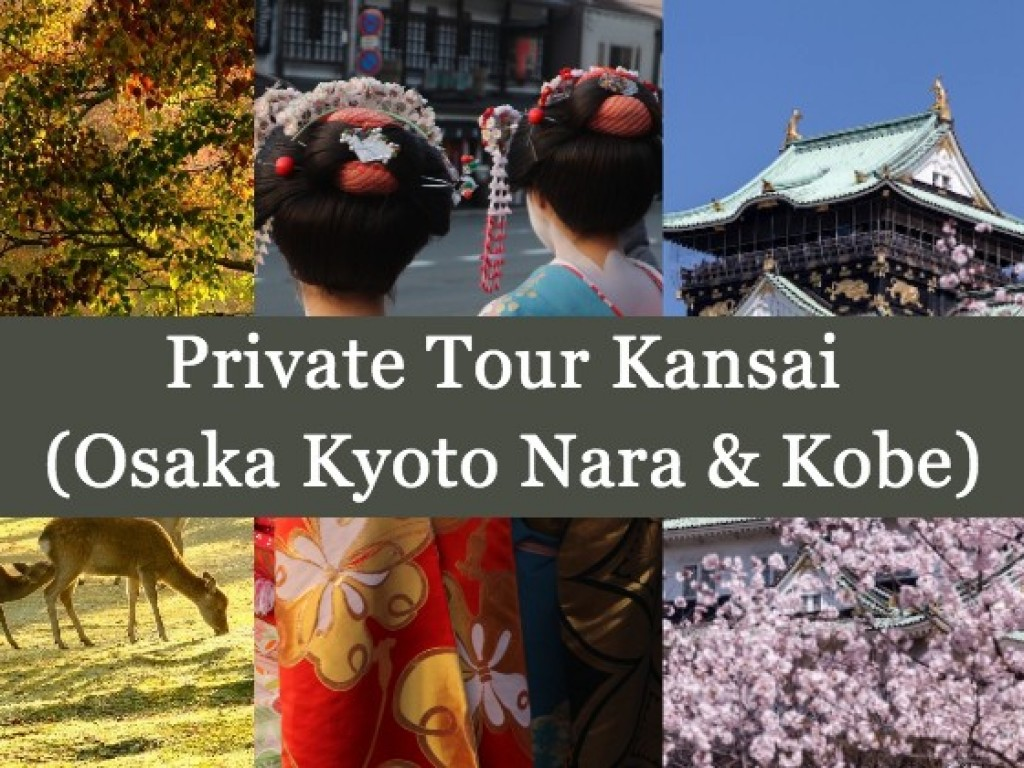 4D3N Cheap Private Land Tour Kansai (Osaka Kyoto Nara & Kobe) 0