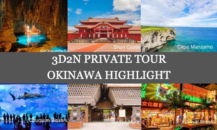 3D2N Cheap Private Land Tour Package in Okinawa