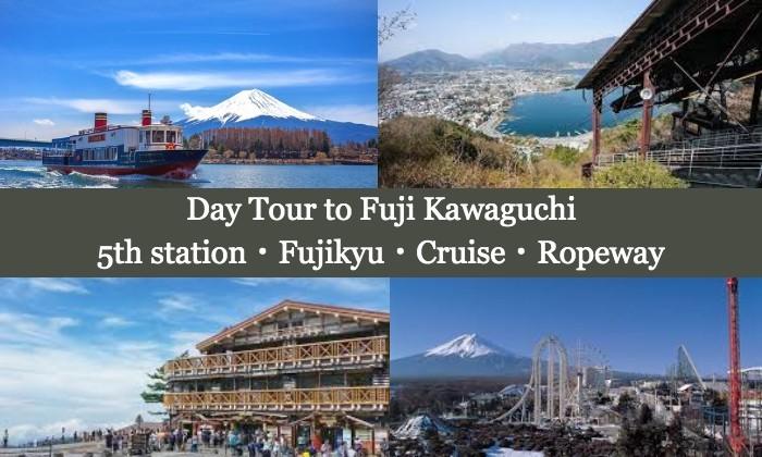 Paket Tour Harian ke Fuji Kawaguchi dari Tokyo dengan Bis