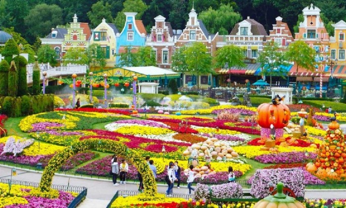 Traveling Everland Theme Park and Shopping in Seoul