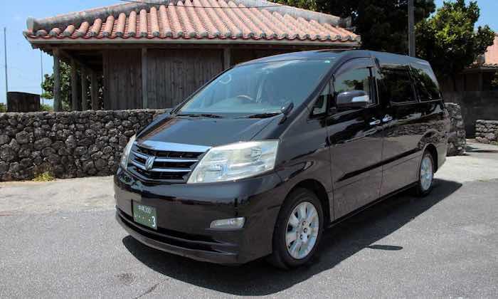 Okinawa Toyota Alphard